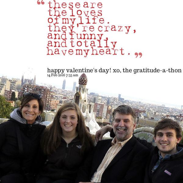 valentine-a-tude-athon day 814: myfamily