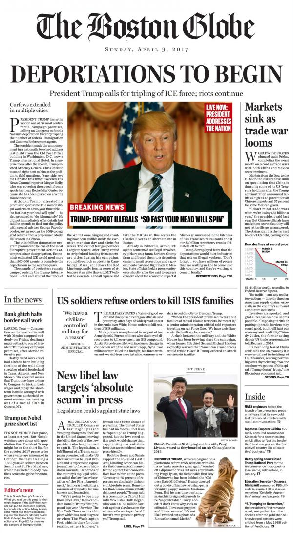 boston globe trump front page_0