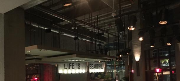 The bar at Cibo.