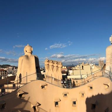 Roof of La Pedrera,