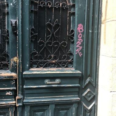 Just a beautiful door.