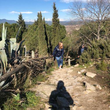 The hills of Girona.