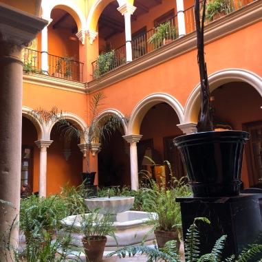 The stunning Sevilla Casa Del Poeta.