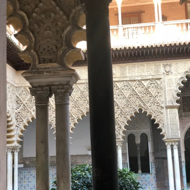 The Real Alcazar and one of the best things I saw on the trip.
