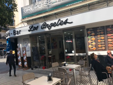 Not really, but there was a little bit of L.A. in Sevilla.