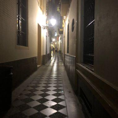 A lovely street in Sevilla.