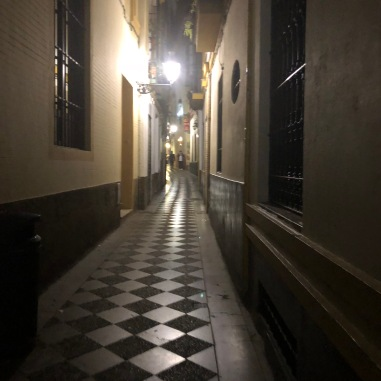 A lovely street in Sevilla.