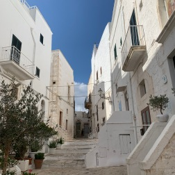 Ostuni is all white. And I'm all about white.
