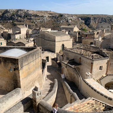 Just tooling around Matera.