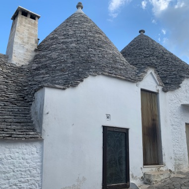 The Trulli of Alborobello. Is this where the elves live on the off season?
